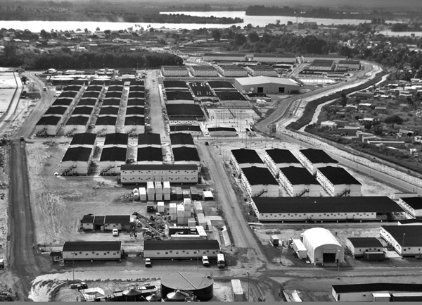6,500 Man Camp Bechtel-Angola LNG