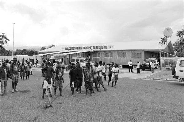 Kieta (Aropa) Airport